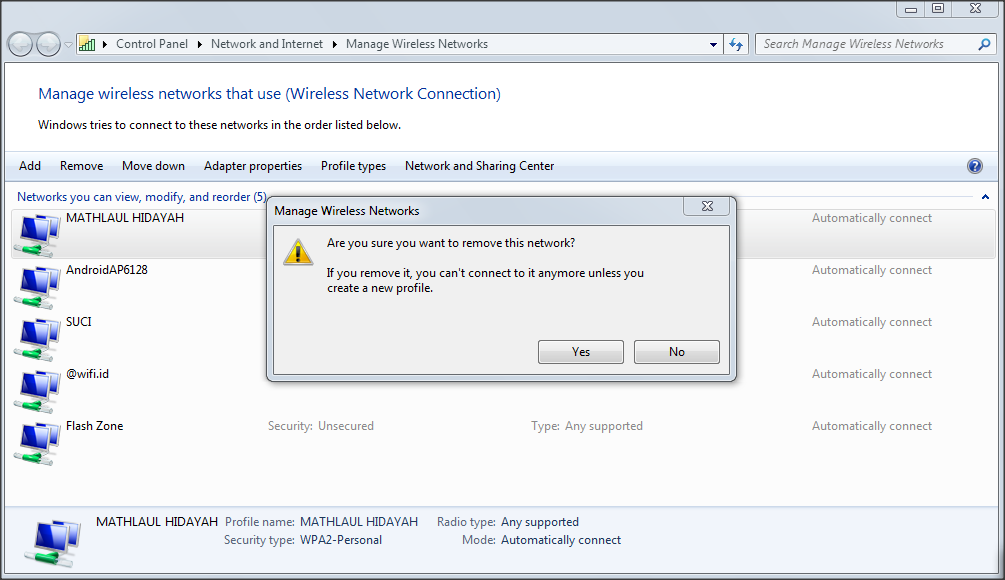 cara mengatasi windows is unable to connect to the selected network