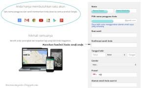 Cara buat akun email baru gmail